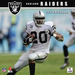 2014 Oakland Raiders 12X12 Wall Calendar