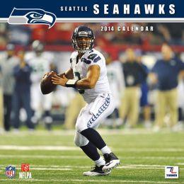 2014 Seattle Seahawks 12X12 Wall Calendar