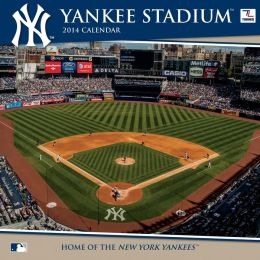 2014 New York Yankees Yankee Stadium 12X12 Wall Calendar