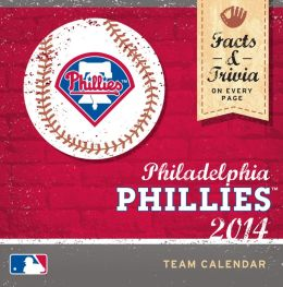 2014 Philadelphia Phillies Box Calendar