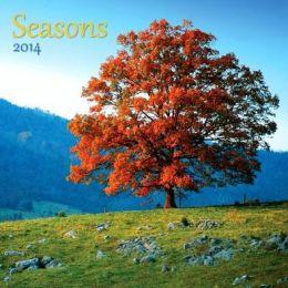 2014 Seasons Wall Calendar