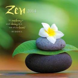 2014 Zen Wall Calendar