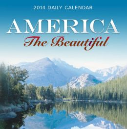 2014 America The Beautiful Box Calendar