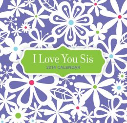 2014 I Love You Sis 365 Daily Mini Box Calendar