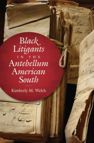 Black Litigants in the Antebellum American South