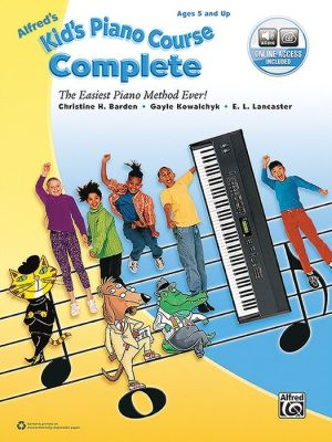 Alfred's Kid's Piano Course Complete: The Easiest Piano Method Ever!, Book & Online Audio