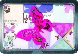 Butterfly Sticky Notes