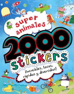 Super animales, 2000 stickers