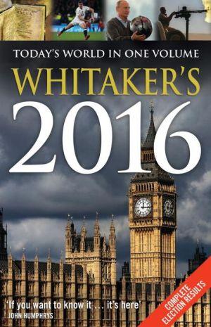 Whitaker's 2016