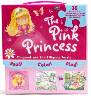The Pink Princess: Storybook And Jigsaw
