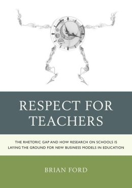 essay on respect for a teacher