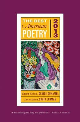 The Best American Poetry 2013