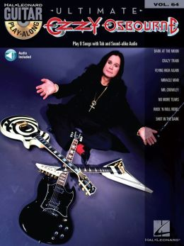Ozzy Osbourne: Guitar Play-Along Volume 64