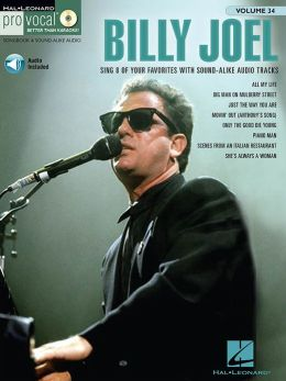 Billy Joel (Songbook): Pro Vocal Men's Edition Volume 34