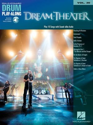Dream Theater: Drum Play-Along Volume 30 Book/2-CD Pack