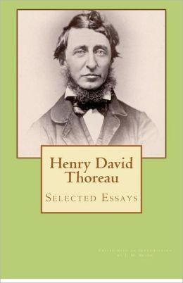 Henry David Thoreau Civil Disobedience