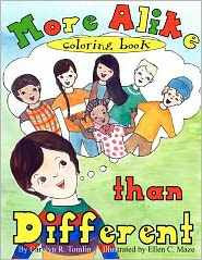 More Alike Than Different: Coloring Book