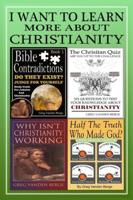 I Want to Learn More about Christianity