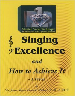 Singing Excellence and How to Acheive It: The Consumate Art of Glorious Singing (PagePerfect NOOK Book)