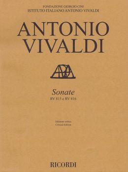 Sonatas, RV 815 and RV 816: Violin and Basso Continuo