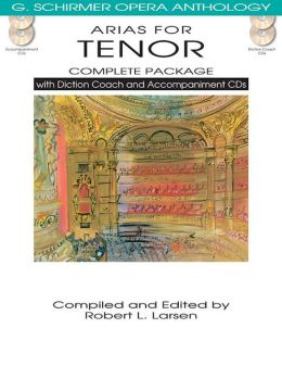 Arias for Tenor Complete Package: with Diction Coach and Accompaniment CDs