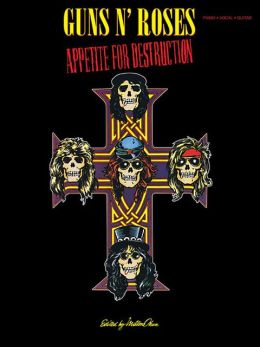 Guns 'n' Roses Appetite For Destruction (Piano/Vocal/Guitar)