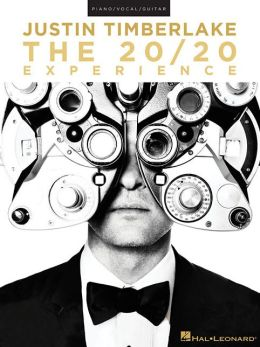 Justin Timberlake - The 20/20 Experience (Piano/Vocal/Guitar)