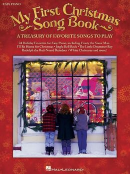 My First Christmas Song Book - Easy Piano