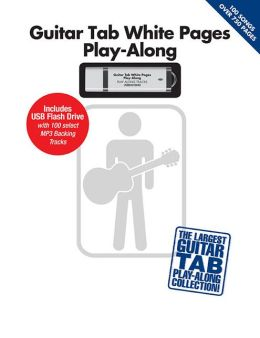 Guitar Tab White Pages Play-Along (Book/USB)