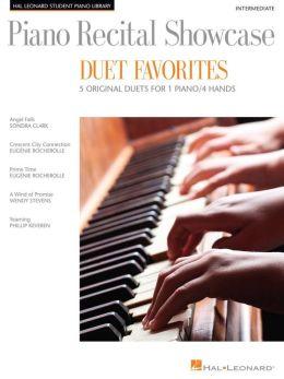 Piano Recital Showcase - Duet Favorites: 5 Original Duets For 1 Piano/4 Hands