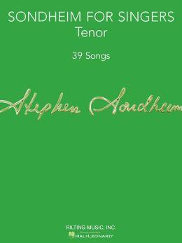 Sondheim for Singers: Tenor Edition