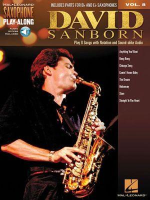 David Sanborn: Saxophone Play-Along Volume 8