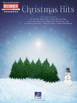 Christmas Hits: Hal Leonard Recorder Songbook