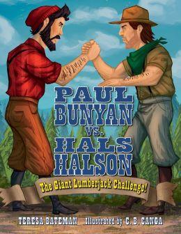 Paul Bunyan vs. Hals Halson: The Giant Lumberjack Challenge!