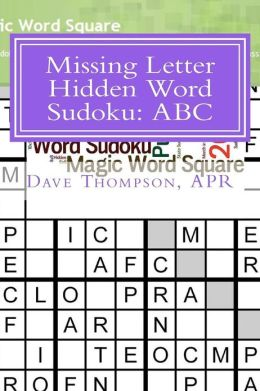 Missing Letter Hidden Word Sudoku: ABC