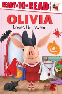 OLIVIA Loves Halloween: with audio recording