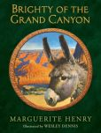 Book Cover Image. Title: Brighty of the Grand Canyon, Author: Marguerite Henry