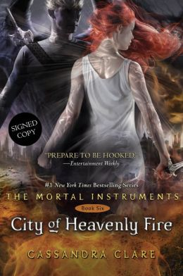 City of Heavenly Fire (Signed Book) (The Mortal Instruments Series #6)