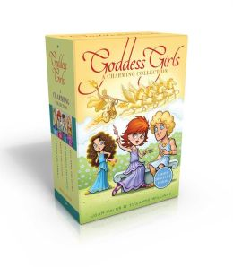 The Goddess Girls Charming Collection Books 9-12 (Charm Bracelet Included): Pandora the Curious; Pheme the Gossip; Persephone the Daring; Cassandra the Lucky