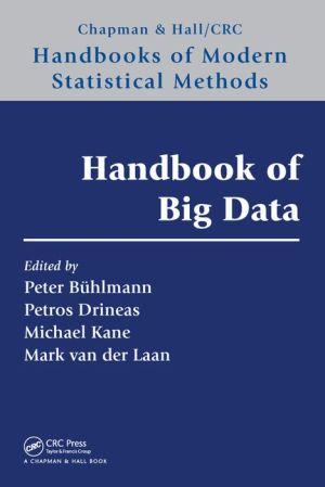 Handbook of Big Data