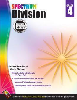 Division Workbook, Grade 4