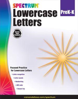 Lowercase Letters, Grades PK - K