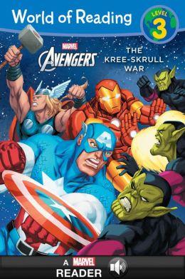 Avengers: The Kree-Skrull War (World of Reading Series: Level 3)