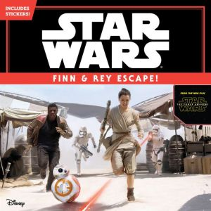 Star Wars: Finn & Rey Escape! (Includes Stickers!): Includes Stickers!