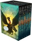 Book Cover Image. Title: Percy Jackson and the Olympians 5 Book Paperback Boxed Set (new covers w/poster), Author: Rick Riordan