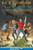 Book Cover Image. Title: The Crown of Ptolemy, Author: Rick Riordan