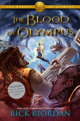 The Blood of Olympus (B&N Exclusive Edition) (Heroes of Olympus Series #5)