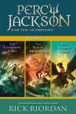 Book Cover Image. Title: Percy Jackson and the Olympians:  Books I-III: Collecting The Lightning Thief, The Sea of Monsters, and The Titans' Curse, Author: Rick Riordan
