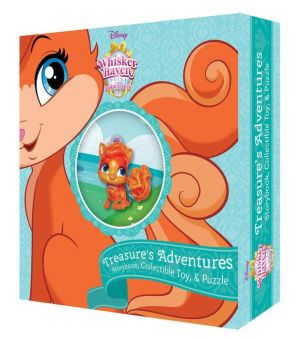 Whisker Haven Tales with the Palace Pets: Treasure's Adventures (Storybook Plus Collectible Toy)
