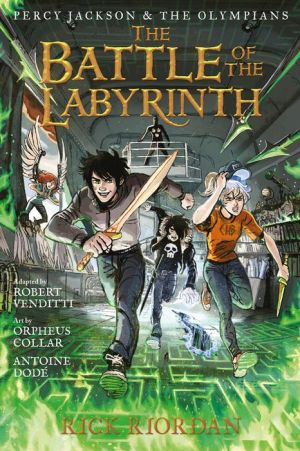 Book Percy Jackson and the Olympians The Battle of the Labyrinth: The Graphic Novel